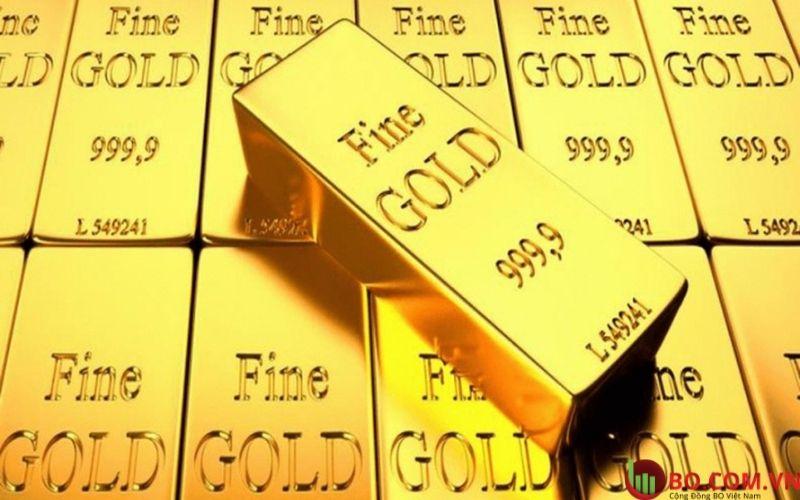 Vàng đã tăng vào thứ Hai trong phiên Mỹ