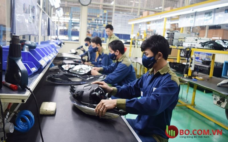 Sản lượng công nghiệp tháng 7 của Trung Quốc