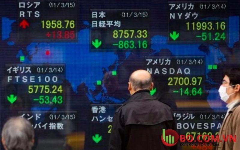 Thị trường chứng khoán Châu Á tăng