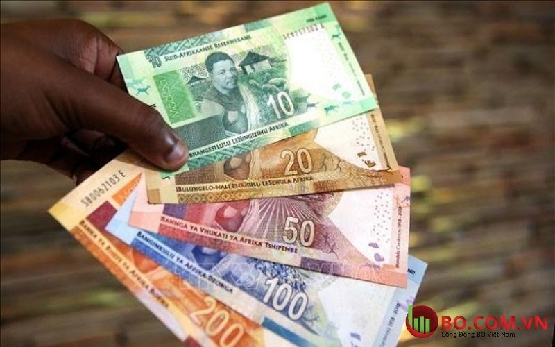 Đồng Rand Nam Phi có dấu hiệu tăng mạnh