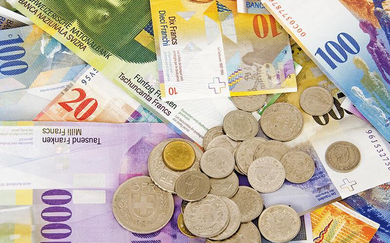 Đồng franc Thụy Sĩ